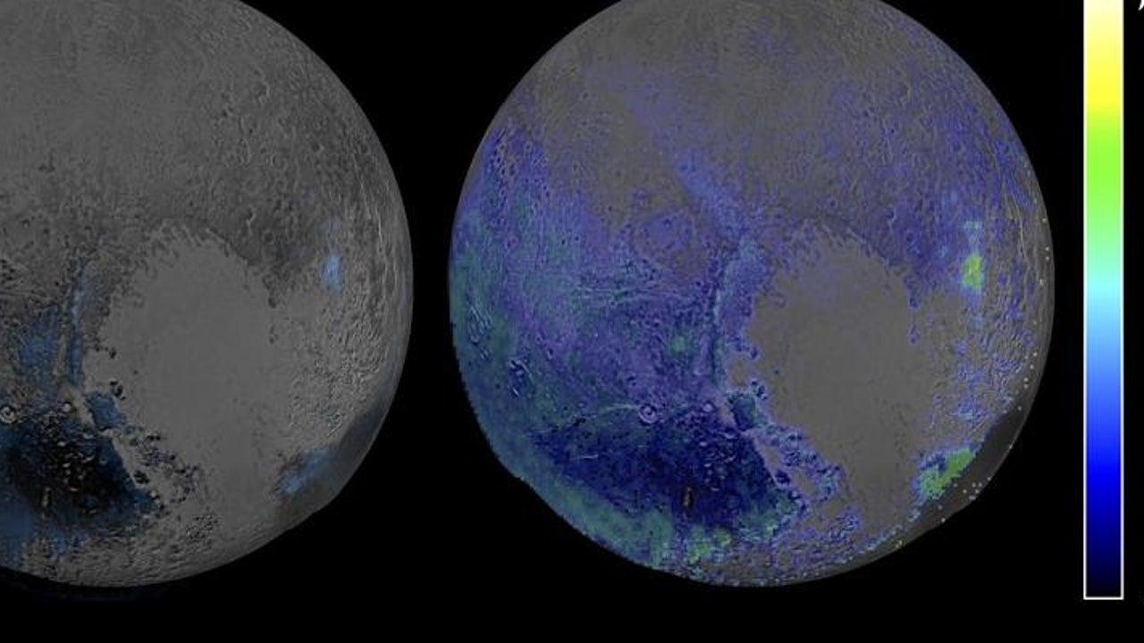 Versteckter Ozean: Spannende These: Das steckt hinter den Rissen in Plutos Eis-Decke