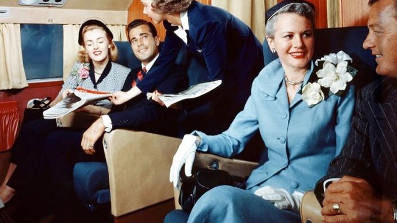 So war das Fliegen vor 70 Jahren