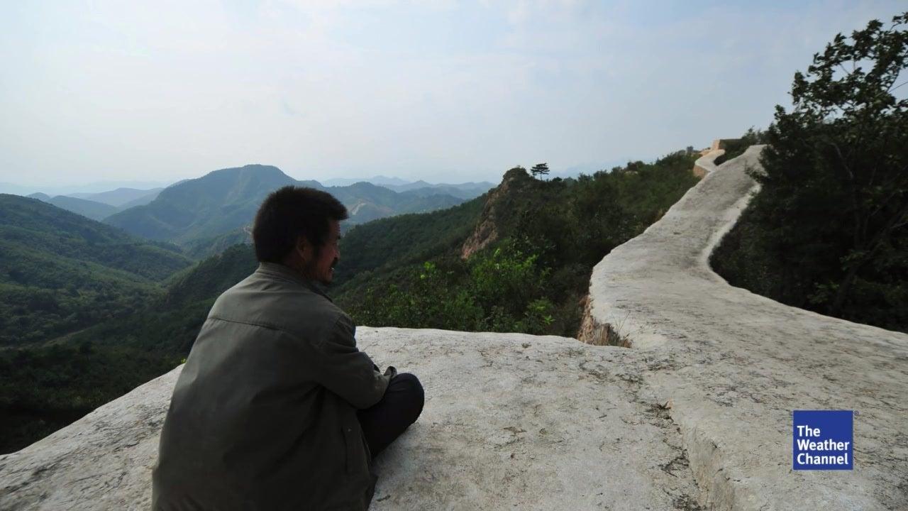 China betoniert Teil der chinesischen Mauer zu