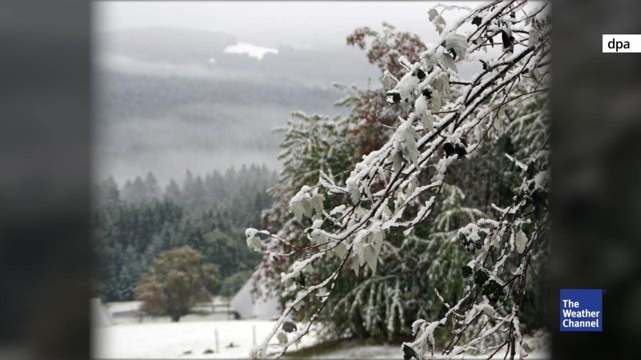 Schneefallgrenze sinkt - in diesen Regionen