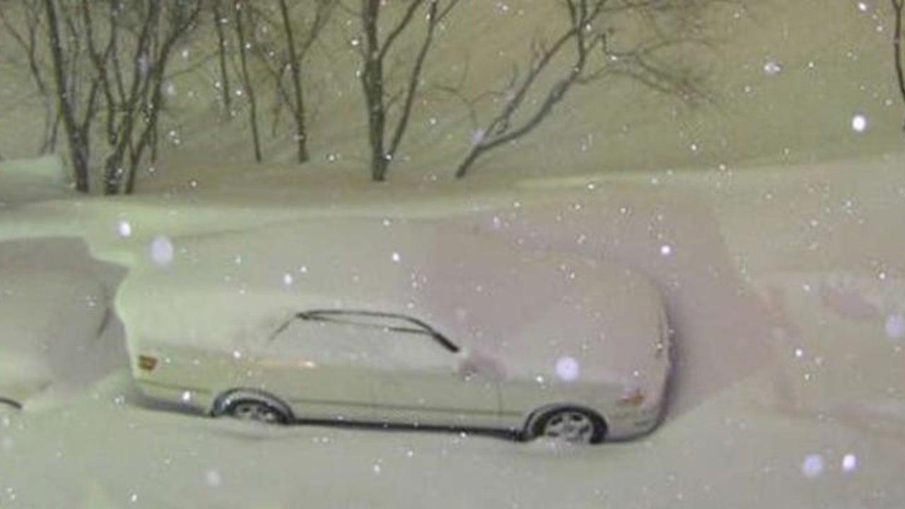 Sibirien liegt schon jetzt unter einer heftigen Schneedecke