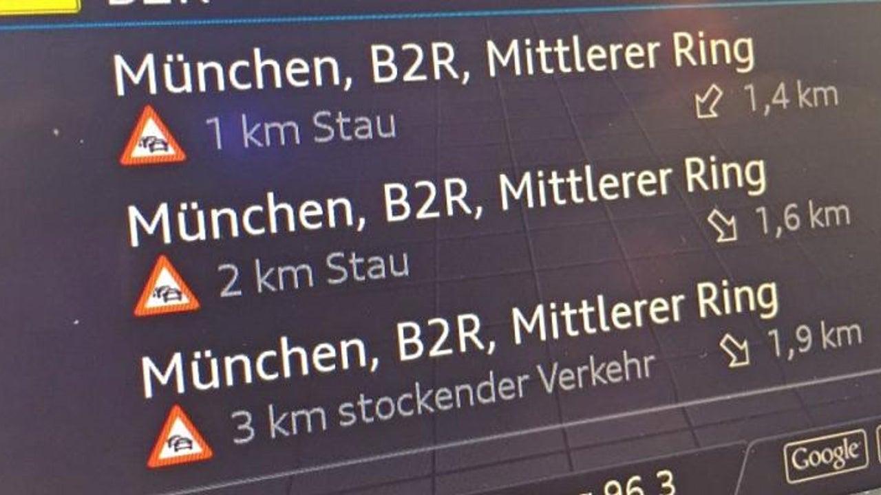 Die 10 schlimmsten Stau-Hotspots in Deutschland