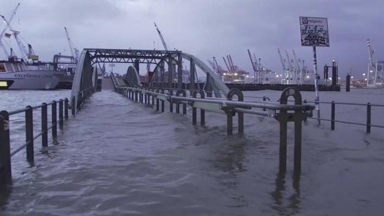 Hochwasser, Schnee, Unfälle: Sturmtief Axel fegt über Deutschland hinweg