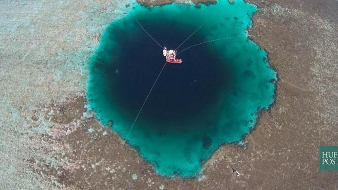 China behauptet, das größte Loch der Welt entdeckt zu haben