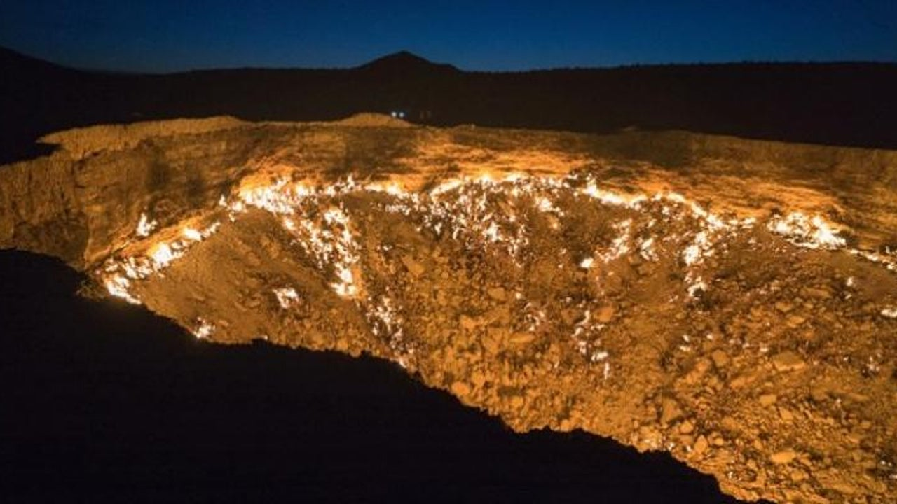 Derweze-Krater: Als wäre er nicht von dieser Welt