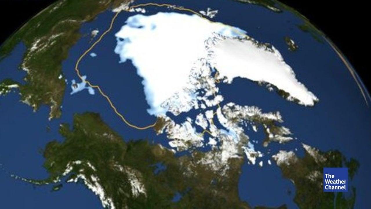 Trend: Arktis-Eis schrumpft auf Negativ-Rekord