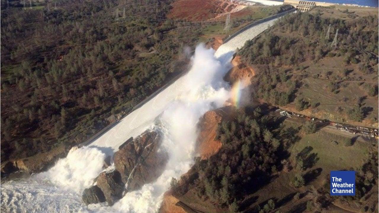 160.000 Menschen fliehen:  US-Staudamm droht zu brechen
