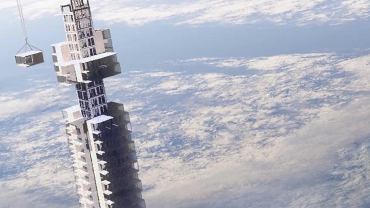 Über den Wolken: Das ist der Wolkenkratzer der Zukunft