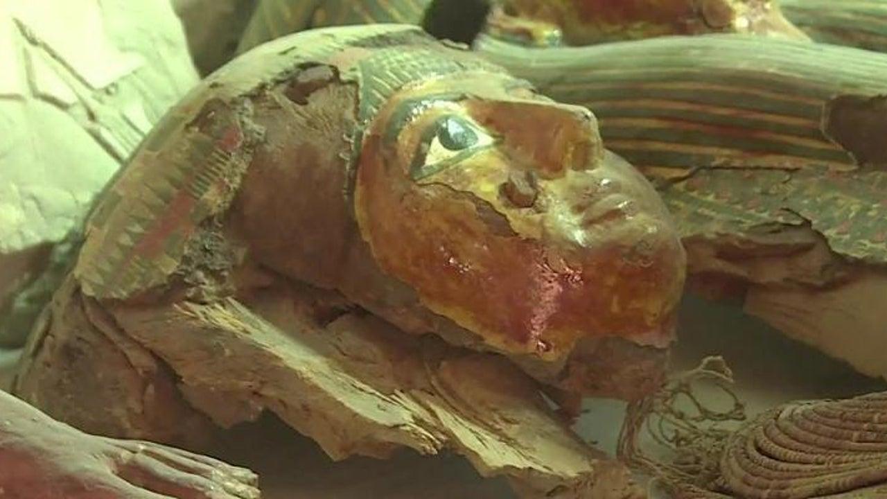 Archäologen entdecken Mumien aus Zeit von Tutanchamun