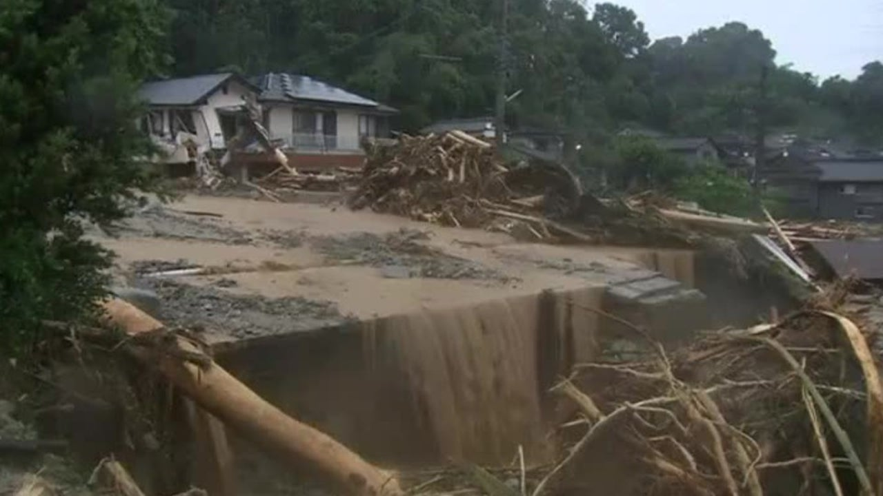 Heftige Regenfällen: Japan schlägt Alarm