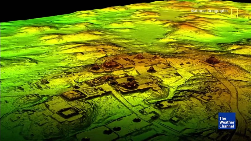 Cientistas descobrem 60 mil estruturas Maias