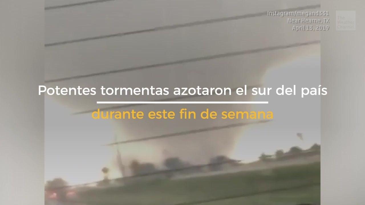 8 muertos tras tornados en el sur de EE. UU.