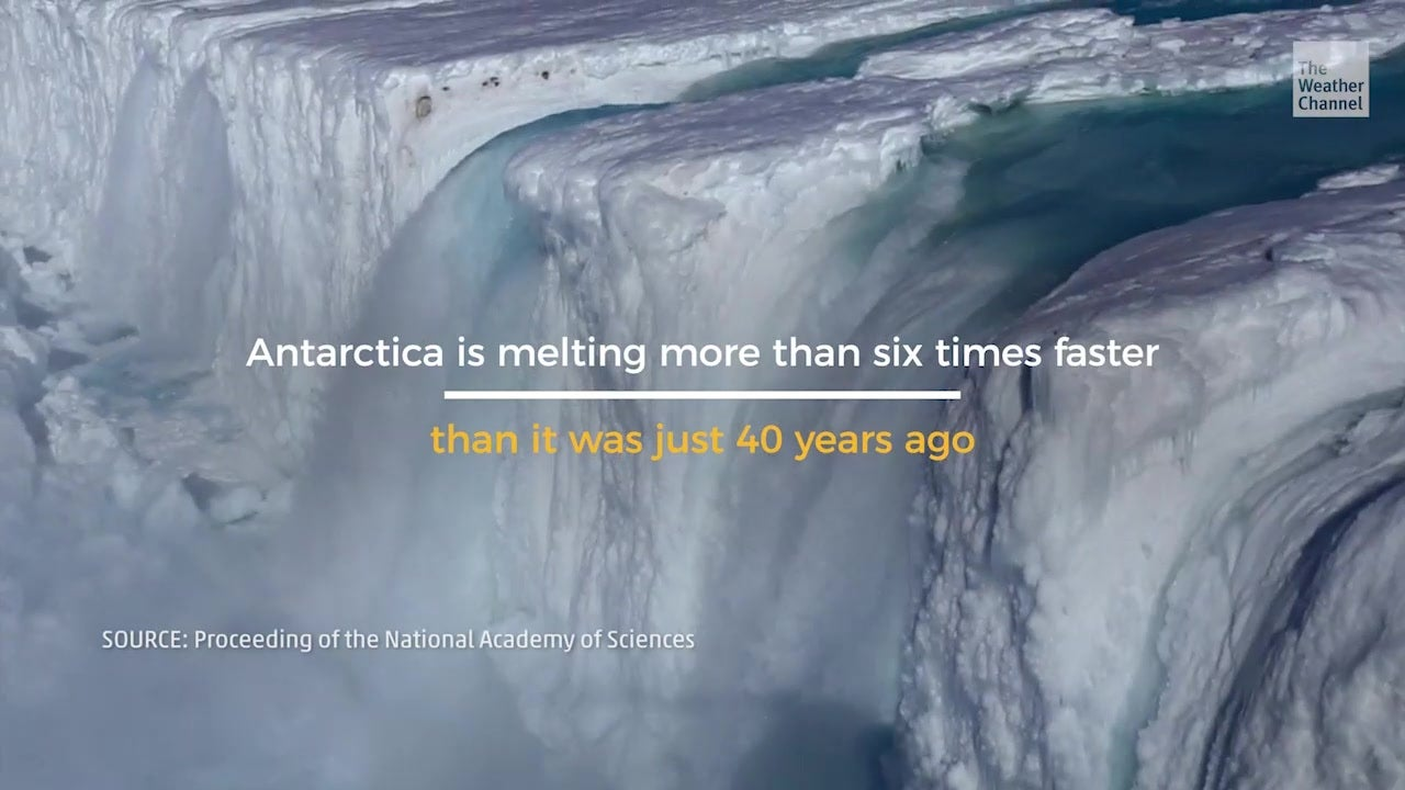 Antarctic Ice Loss Accelerating Insanely Fast