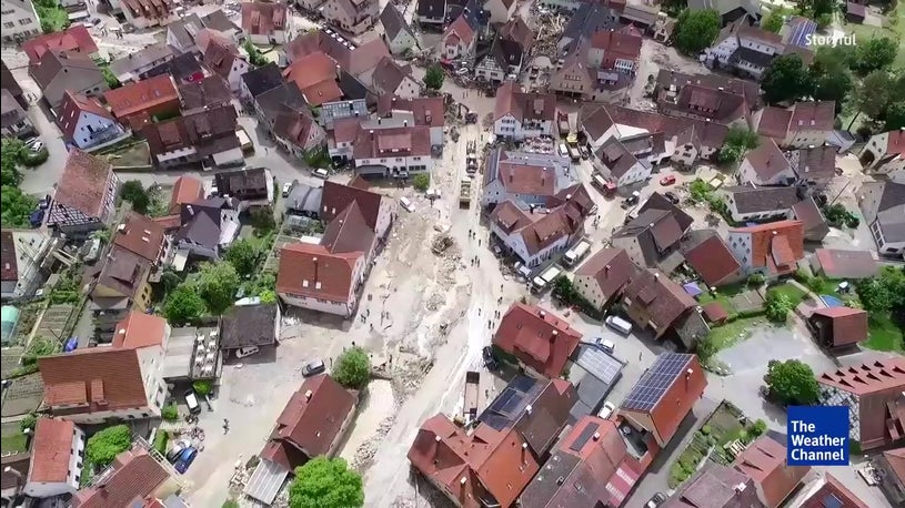 Flood Aftermath in Braunsbach, Germany