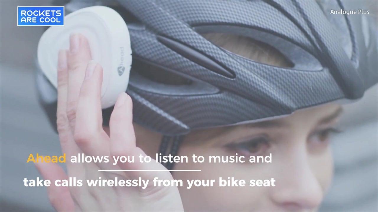 Clip-on gadget makes any helmet smart