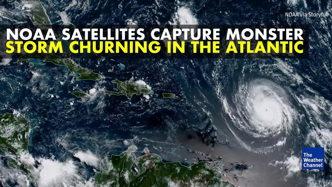 Amazing satellite images of Hurricane Irma