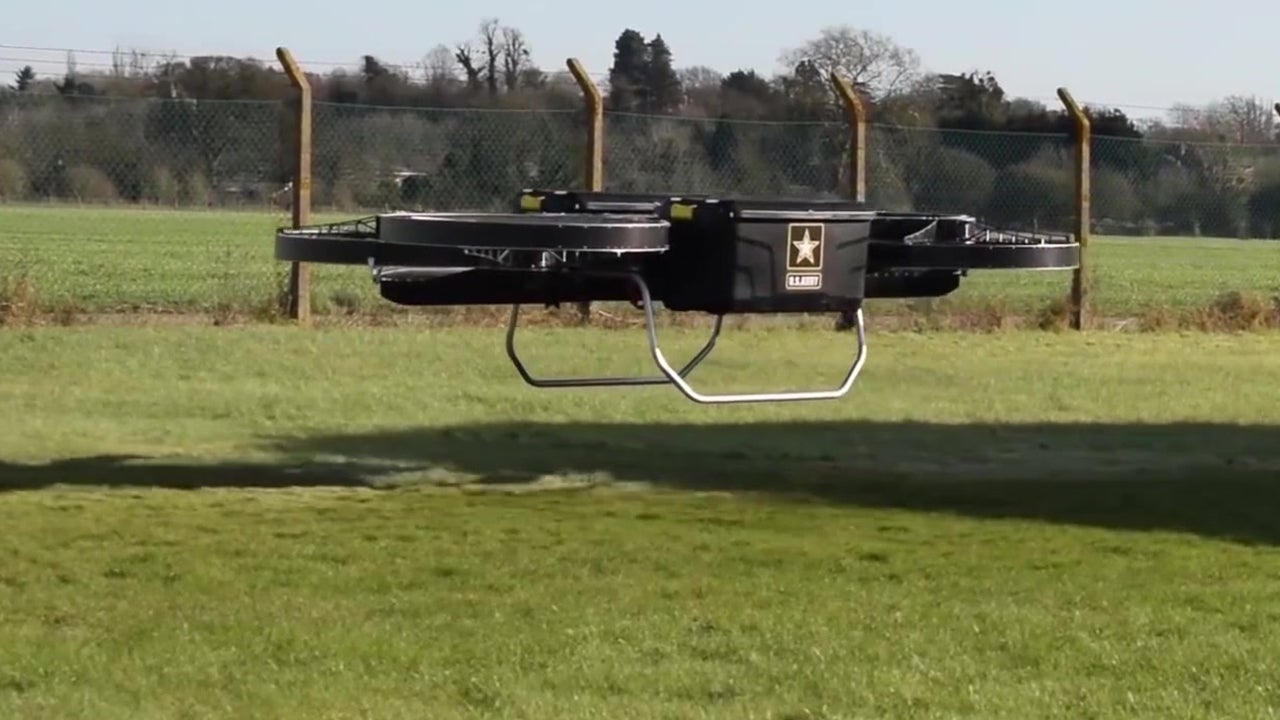 Army Flies Hoverbike Prototype