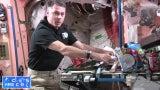 Astronauts Make PB&J Tacos
