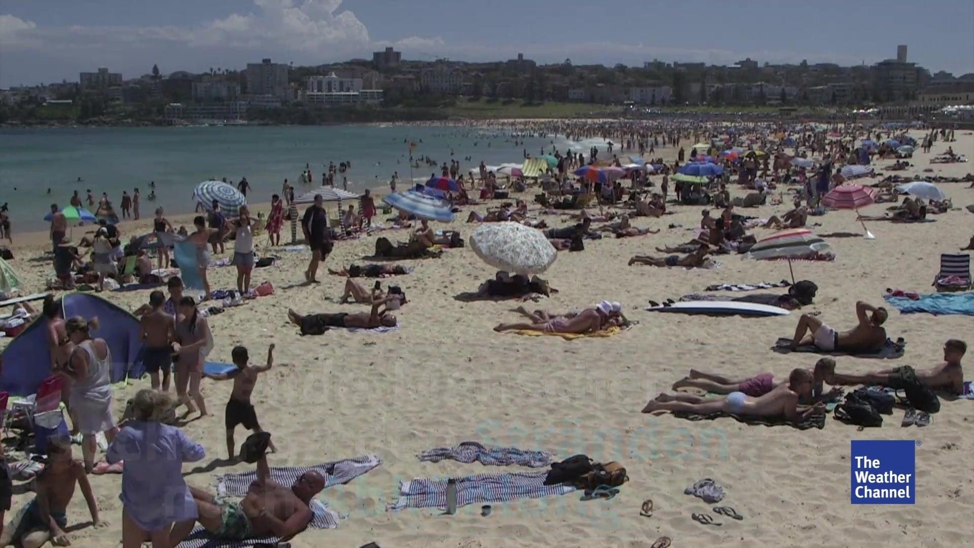 49 Grad: Australier ächzen unter Extremhitze