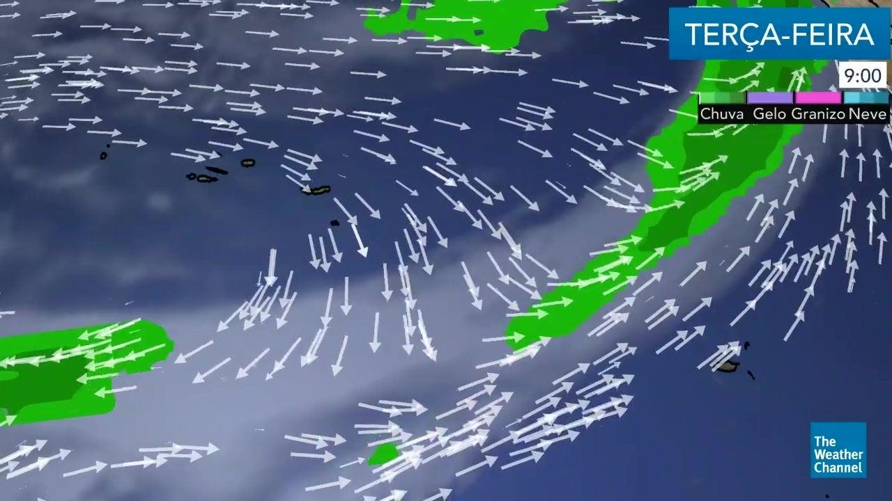 Veja o tempo para esta terça-feira nos Açores e Madeira