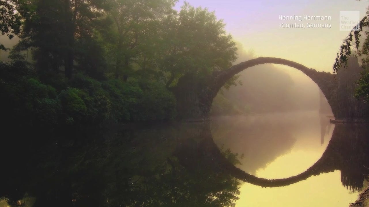 Fairy Tale Bridge Forms Complete Circle