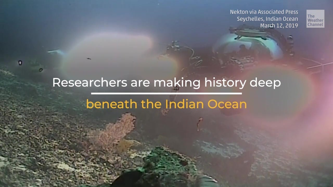 transmisión desde el Océano Índico
