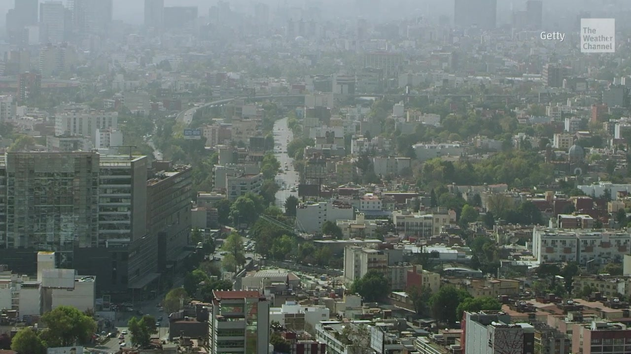 Better air quality in Mexico City