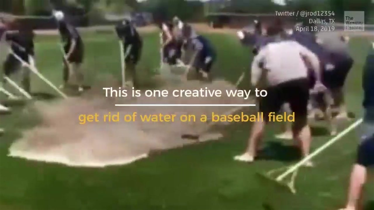 Water on a Baseball Field? No Problem