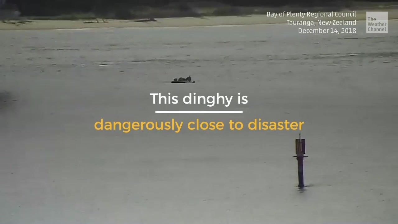 Dinghy's Close Call with Disaster