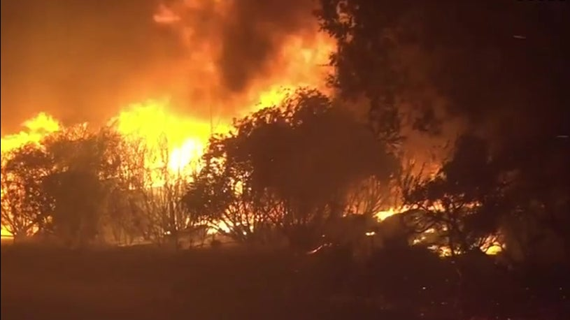 Thousands evacuated due to wildfires