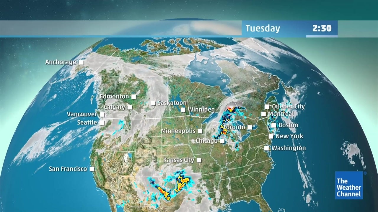 WATCH: Latest Canada forecast for this week | The Weather