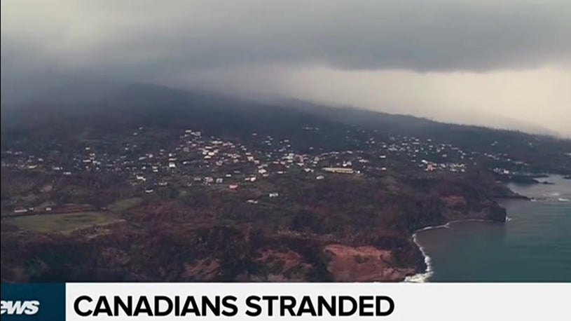 Canadians Stranded due to Hurricane Maria