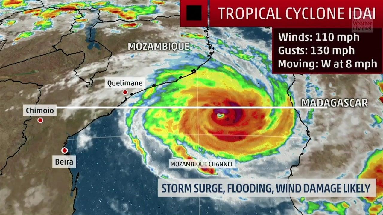Ciclón Idai se dirige a Mozambique