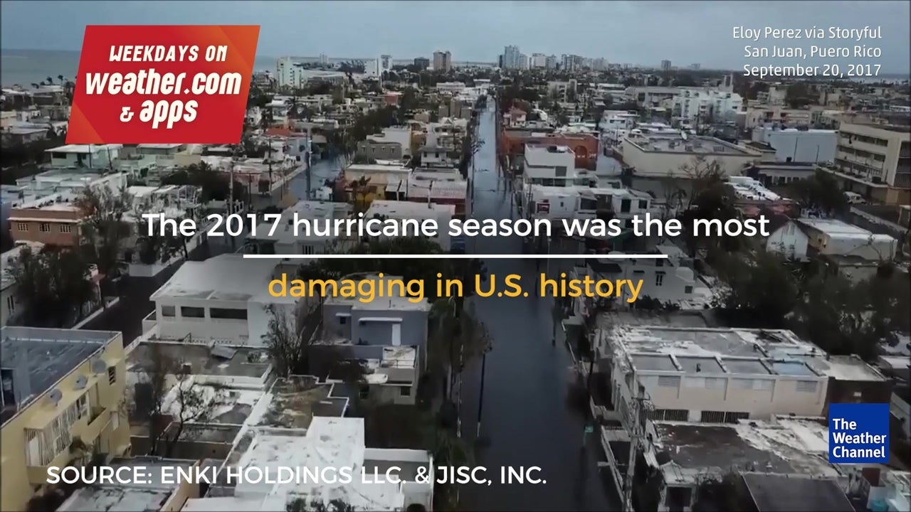 This year's hurricane season was the most expensive in U.S. history