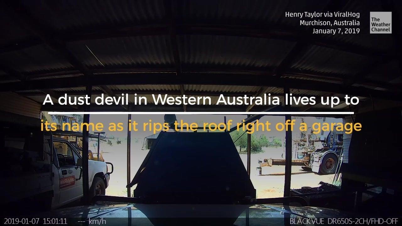 Dust Devil Does Damage Down Under