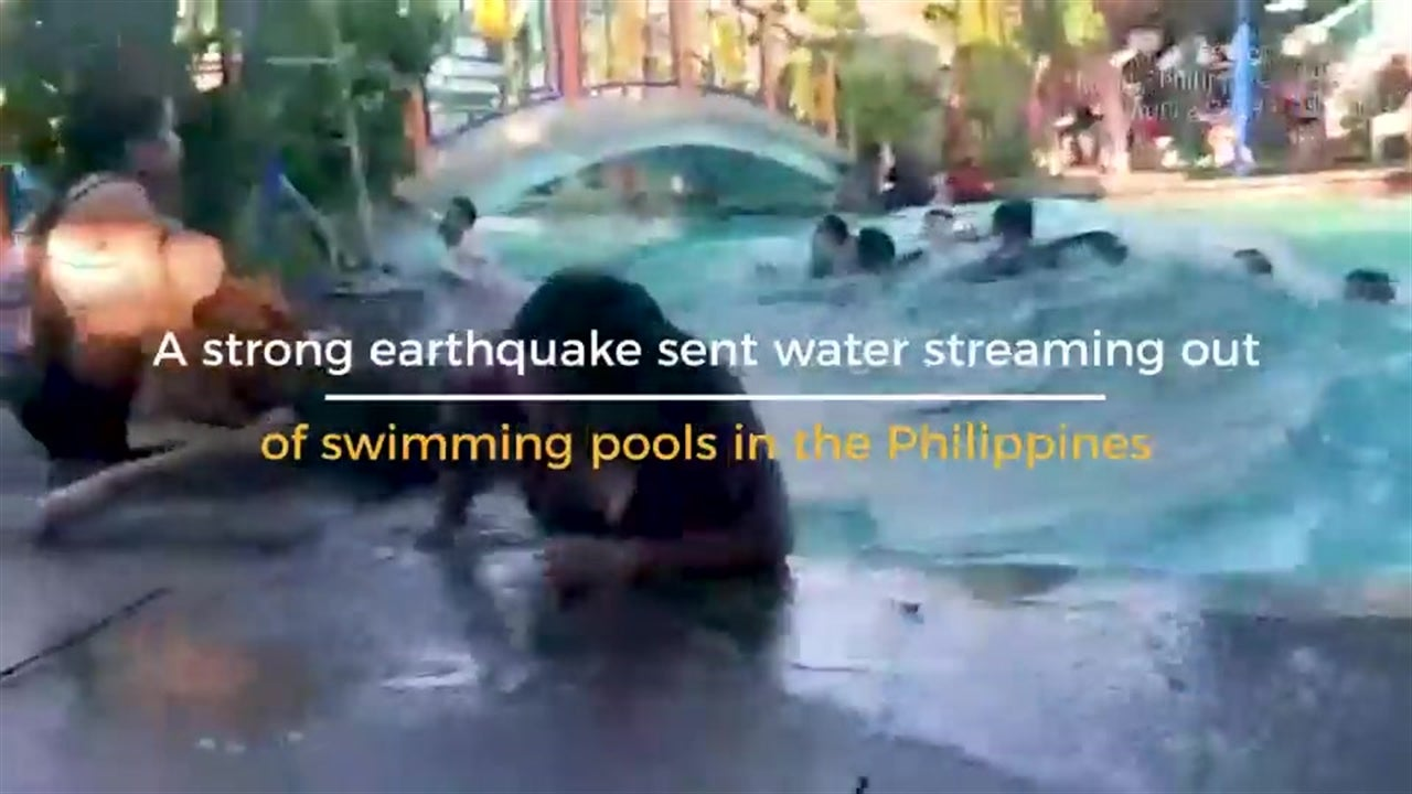 Earthquake on Water