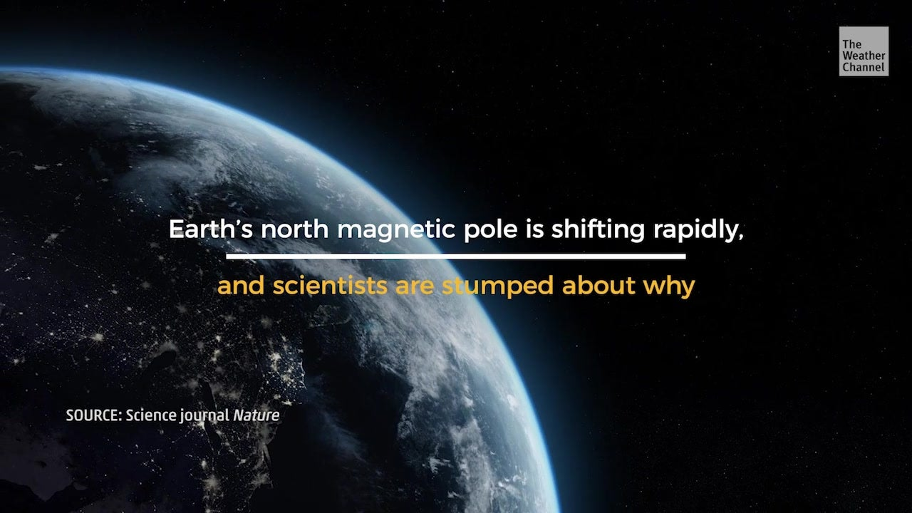 Why is the Magnetic North Pole Moving?