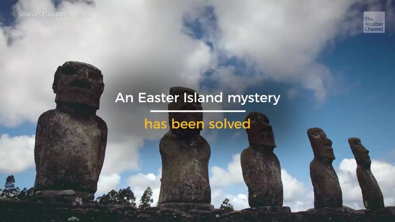 Giant Mystery Over Giant Statues Solved