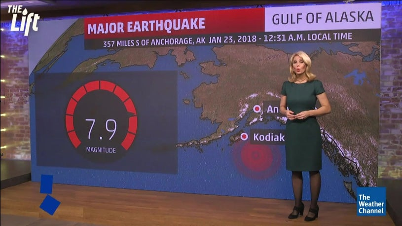 Alaska coast struck by 7.9 magnitude earthquake