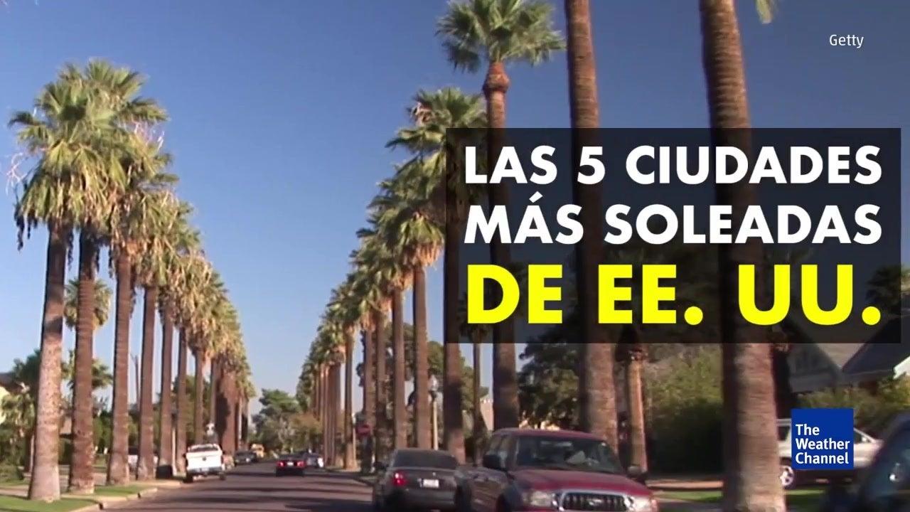 Las 5 ciudades más soleadas de EE. UU.