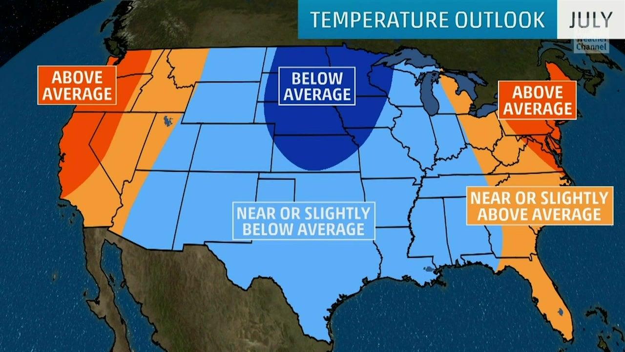 Este verano podría ser más cálido en las costas