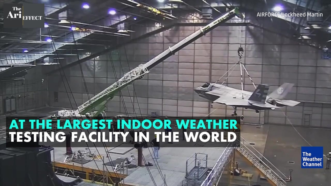 Testing planes for extreme weather