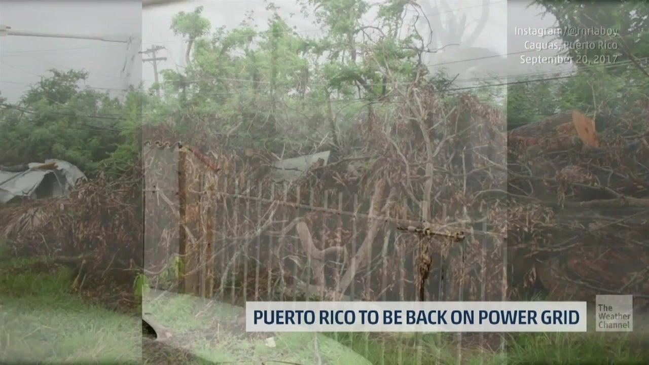 Finalmente, todo Puerto Rico tiene electricidad