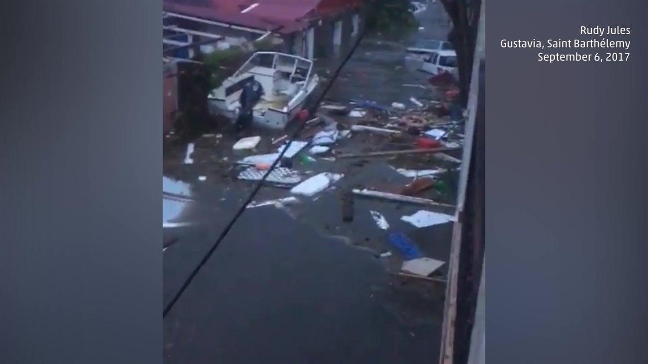 St. Barts struggles under Irma
