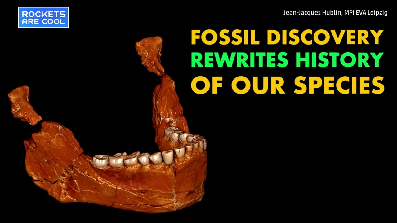 Watch: Fossil discovery rewrites human history