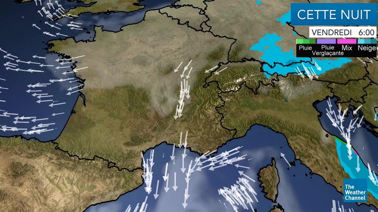 VIDEO Retrouvez la météo du vendredi 4 janvier