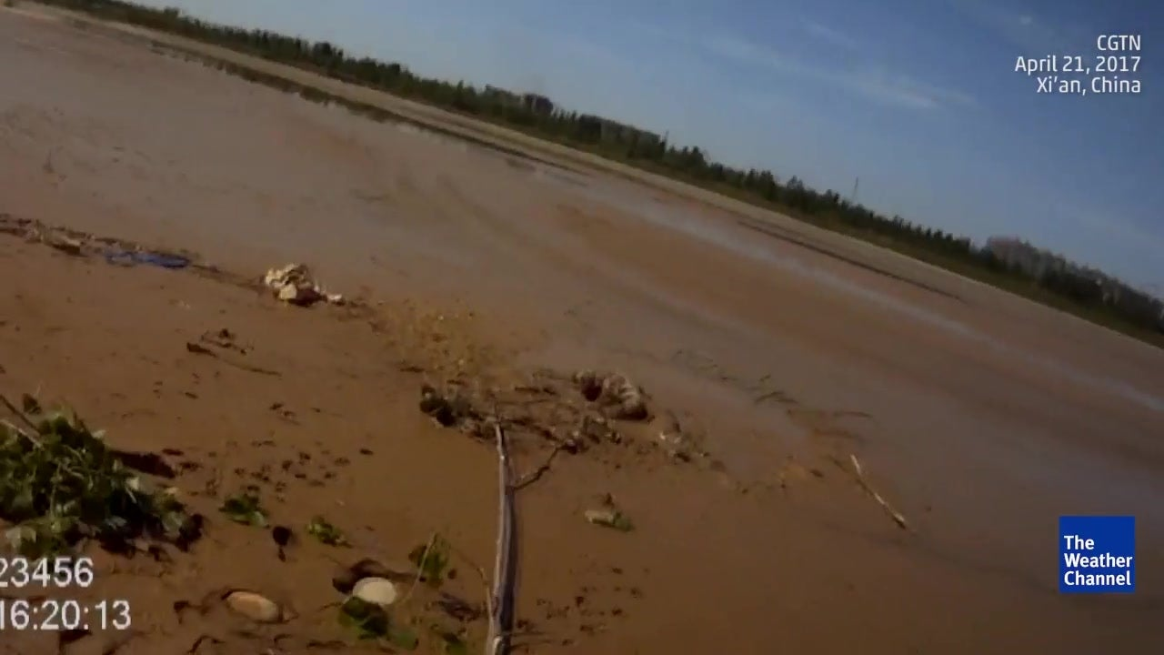 Elderly woman stuck in mud for 20 hours