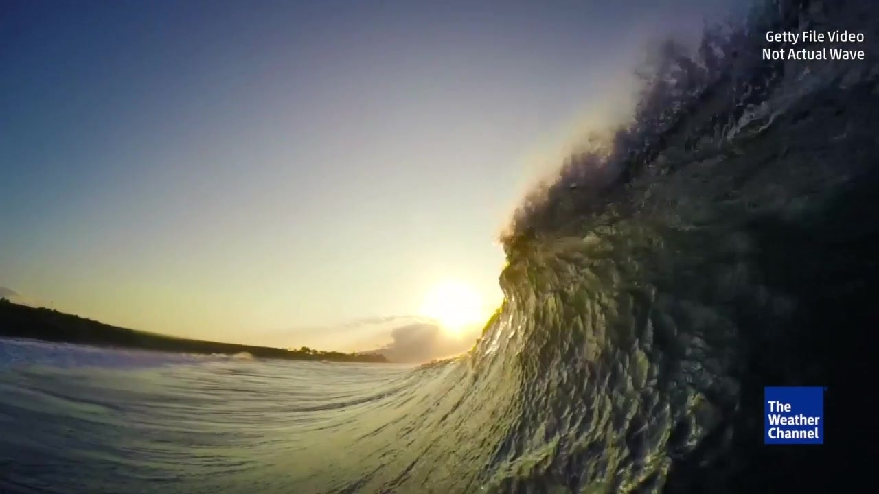 Watch: Monster 64-ft wave one of largest recorded