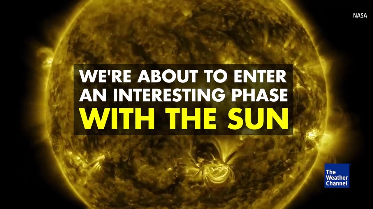 Watch: The sun is entering a new phase