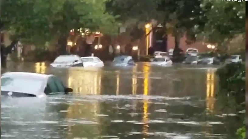 Floodwaters Fill Houston Streets